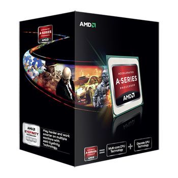 A6-7400K Dual-core (2 Core) 3.50 GHz Processor - Socket FM2+Retail Pack - 1 MB - Yes - 3.90 GHz Overclocking Speed - 28 nm - AMD - 65 W - 158F (70C)