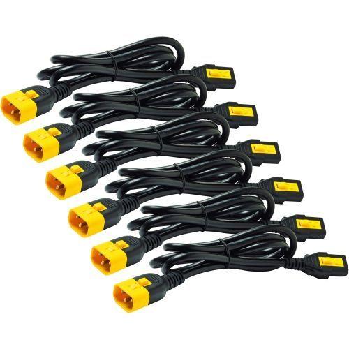 Power cable - IEC 60320 C13 to IEC 60320 C14 - 10 A - 2 ft - black - Worldwide - for P/N: SMC1000I-2UC SMT2200RMI2UC SRT1500XLI SRT2200XLI-KR SRT5KRMXLIM SRT6KRMXLIM