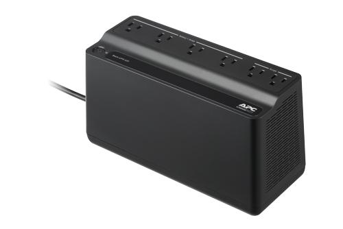 Back-UPS - UPS - AC 120 V - 255 Watt - 425 VA - 1 x battery - output connectors: 6 - black