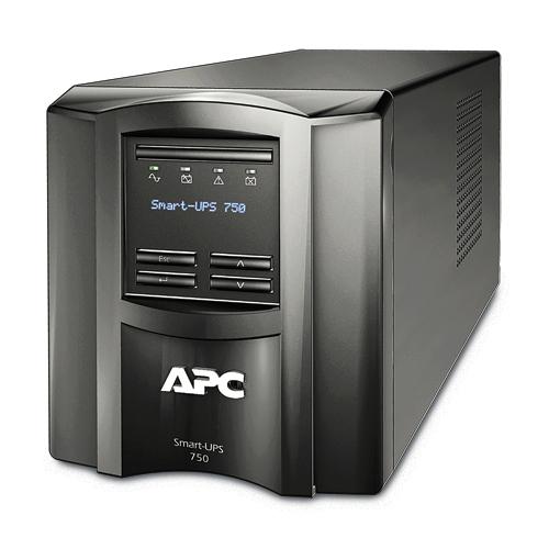 Smart-UPS 750 LCD - UPS - AC 230 V - 500 Watt - 750 VA - RS-232 USB - output connectors: 6 - black