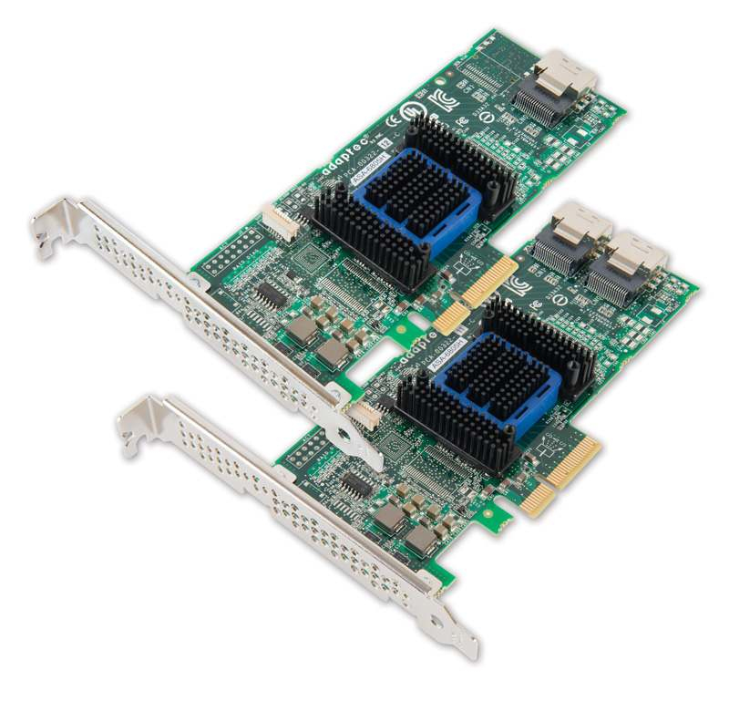 227800-R 4 Port PCI Express SAS Serial ATA 6.0 Gbps Host Bus Adapter