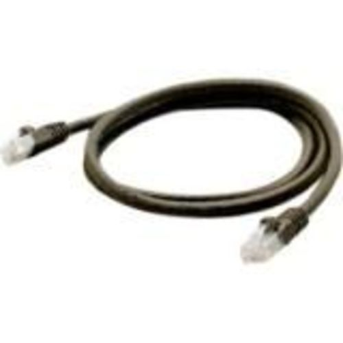 Patch cable - RJ-45 (M) to RJ-45 (M) - 7 ft - UTP - CAT 6a - molded snagless - black