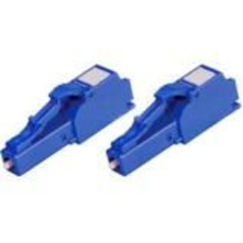 Network connector - LC single-mode (M) - fiber optic (pack of 2)