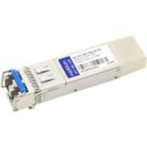 SFP+ transceiver module (equivalent to: Aerohive AH-ACC-SFP-10G-LR) - 10 GigE - 10GBase-LR - LC single-mode - up to 6.2 miles - 1310 nm - for Aerohive Networks SR2124P