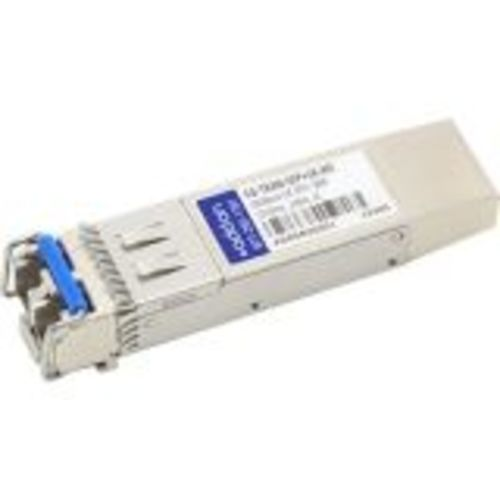 Fortinet Compatible SFP+ Transceiver - SFP+ transceiver module - 10 GigE - 10GBase-LR - LC single-mode - up to 62.2 miles - 1310 nm - for Fortinet FortiGate 1000 1200 1500 3000 3040 3100 3140 3200 3240 3700 3810 3950