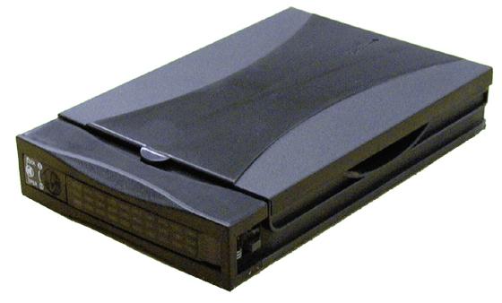 Mobile Rack Hard Drive Enclosure - 1 x 3.5 inch - 1/3H Internal - Black