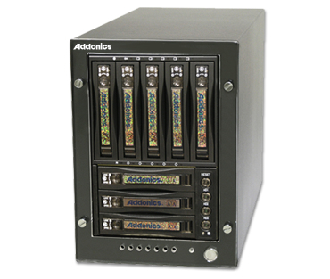 RAID Tower DAS Array - 8 x HDD Supported - Serial ATA/600 Controller - 8 x Total Bays - eSATA Tower