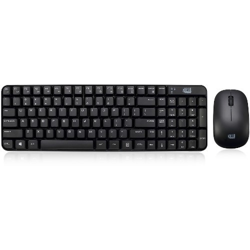 2.4Ghz wireless compact keyboard and mouse combo Retail
