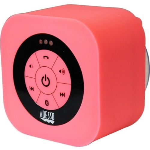Xtream Speaker System - Wireless Speaker(s) - Pink - 150 Hz - 20 kHz - 30 ft - Bluetooth - USB