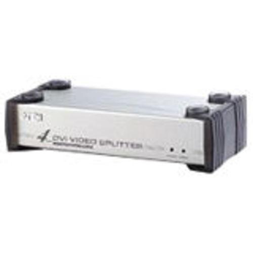 4-port DVI VGA Splitter - 5 x DVI-I Monitor - 1600 x 1200