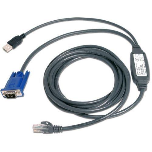 Video / USB cable - USB HD-15 (VGA) (M) to RJ-45 (M) - 15 ft - for AutoView 1400 1500 2000 2020 2030 AV3108 AV3216