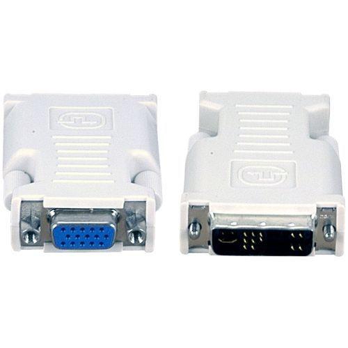 DVI-I to VGA Adapter - 1 x DVI-I Male Video - 1 x HD-15 Female VGA