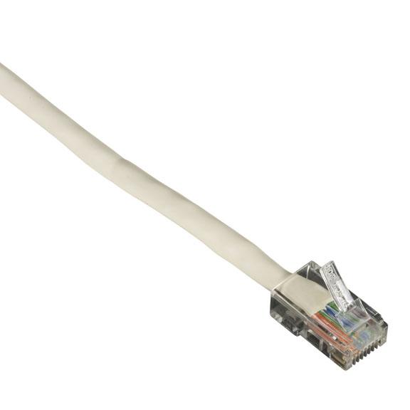 7FT WH CAT6 250MHZ ETHERNET PAT CH CABLE UTP PVC