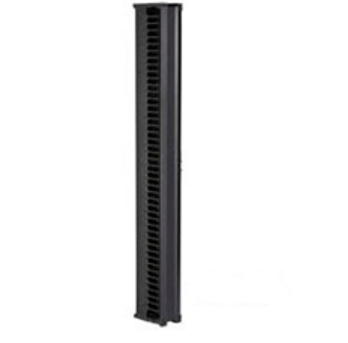 VERTICAL IT RACKMOUNT CABLE MAN AGER 45UX6INW SINGLE SIDED BLACK