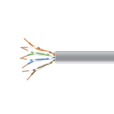 1000FT CAT6 GRAY SPOOL PVC STRANDED PATCH CABLE 550MHZ
