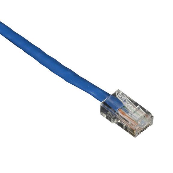 50FT BLUE CAT5E 350MHZ PATCH CA BLE UTP CM NO BOOT