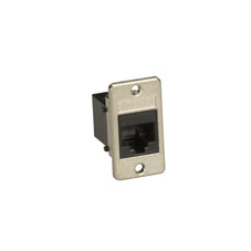PANEL-MOUNT UNSHIELDED CO UPLER RJ45 8-WIRE