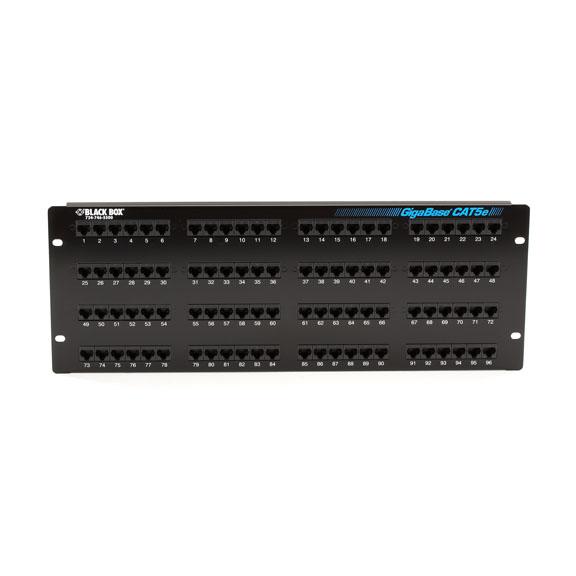 Box GigaBase 96 Port Cat 5e Network Patch Panel