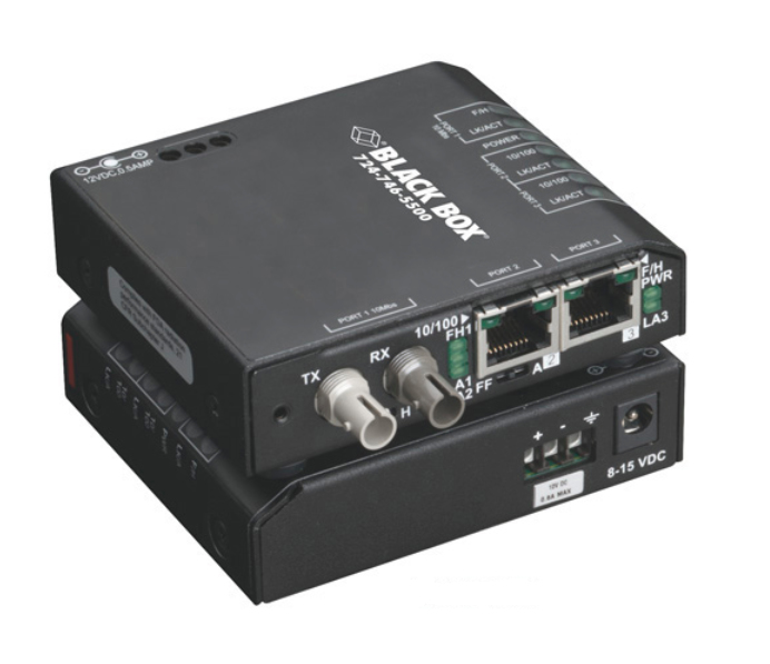 3-PORT INDUSTRIAL 10/100 ETHERN ET SWITCH HARDENED TEMPERATURE