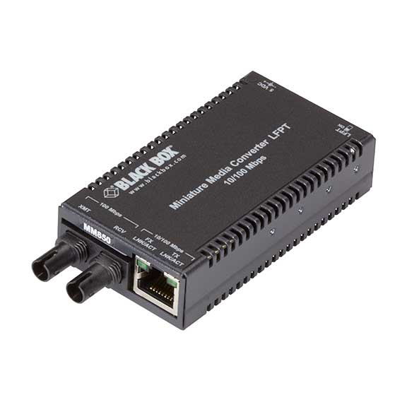 10/100MBPS ST TX/SX MM 850NM MULTIPOWER MINIMEDIA CONVERTER 300M