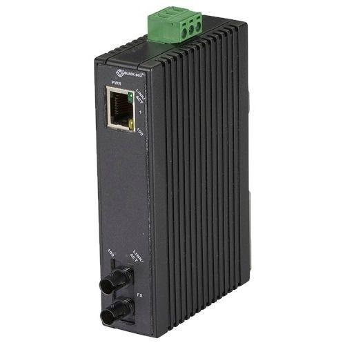 HARDENED MINI INDUSTRIAL MEDIA CONVERTER (1) 10-/100-MBPS COPPER T