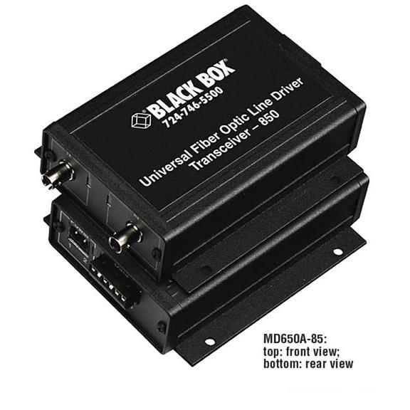 ASYNC RS232 RS422 RS485 EXTENDE R FIBER TERMINAL BLOCK ST MM