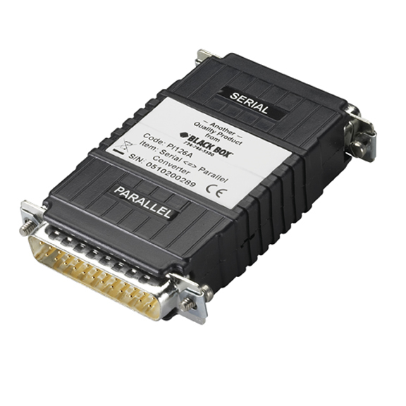 ASYNC RS232 TO PARALLEL CONVERT ER (2) DB25 INTERFACE-PWR HP