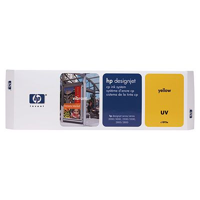 Designjet CP Ink System - Yellow - original - 600 dpi - printhead with cartridge and cleaner - for DesignJet 2000cp 2500cp 2800cp 3000cp 3500cp 3800cp