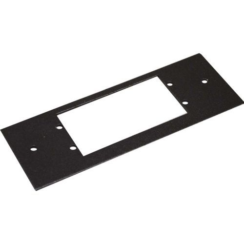 Wiremold OFR Extron AAP Device Plate - Cable raceway interface box plate - black