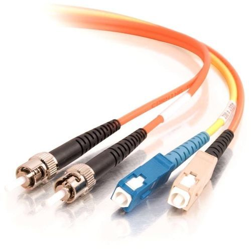 OM1 SC/ST 62.5/125 Mode-Conditioning Fiber Optic Patch Cable - Mode conditioning cable - SC multi-mode (M) to ST multi-mode ST single-mode (M) - 1 m - 62.5 / 125 micron - OM1 - orange