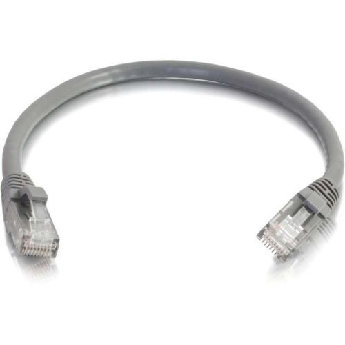 125ft Cat6 Snagless Unshielded (UTP) Ethernet Network Patch Cable - Gray - Patch cable - RJ-45 (M) to RJ-45 (M) - 125 ft - CAT 6 - molded snagless stranded - gray
