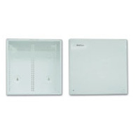 14in Structured Wiring Enclosure with Cover - Cable management box - white