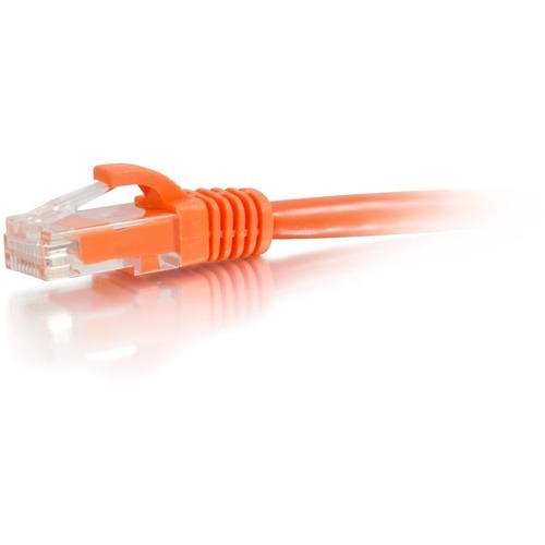 7ft Cat6a Snagless Unshielded (UTP) Network Patch Ethernet Cable-Orange - Patch cable - RJ-45 (M) to RJ-45 (M) - 7 ft - UTP - CAT 6a - molded snagless stranded - orange