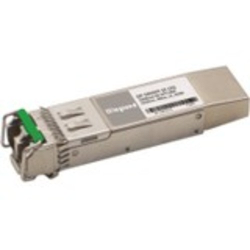 Dell Force10 GP-10GSFP-1E 10GBase-ER SFP+ Transceiver TAA - SFP+ transceiver module (equivalent to: Force10 GP-10GSFP-1E) - 10 GigE - 10GBase-ER - LC single-mode - up to 24.9 miles - 1550 nm - TAA Compliant - for Dell Force10 C150 Resilient Switch C300 R