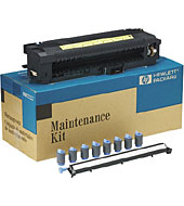 Maintenance kit (120V) - Replacement parts after 350K pages includes fusing assembly 6 feed/separation rollers and transfer roller
