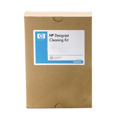 DesignJet cleaning kit - Includes cleaning solution and 20 cleaning rags
