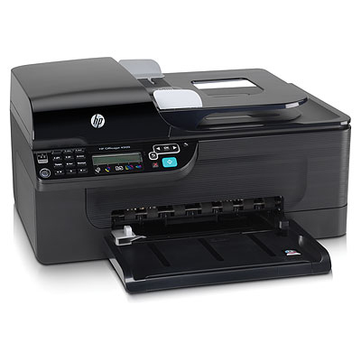 Officejet 4500 All-in-One - Multifunction ( fax / copier / printer / scanner ) - color - ink-jet - copying (up to): 28 ppm (mono) / 22 ppm (color) - printing (up to): 28 ppm (mono) / 22 ppm (color) - 100 sheets - 33.6 Kbps - USB 10/100 Base-TX