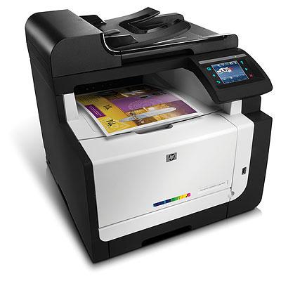 Color LaserJet Pro CM1415fnw - Multifunction printer - color - laser - Legal (8.5 in x 14 in) (original) - Legal (216 x 356 mm) (media) - up to 12 ppm (copying) - up to 12 ppm (printing) - 150 sheets - 33.6 Kbps - USB 2.0 LAN Wi-Fi(n) USB host
