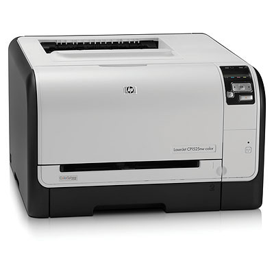 Color LaserJet Pro CP1525nw - Printer - color - laser - Legal - 600 dpi - up to 12 ppm (mono) / up to 8 ppm (color) - capacity: 150 sheets - USB LAN Wi-Fi(n)
