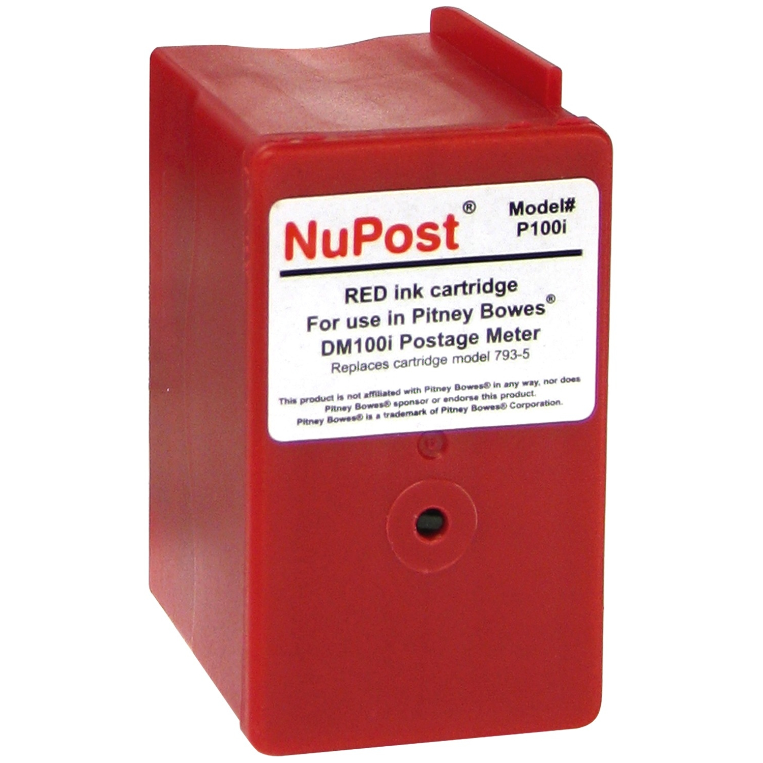 Red Ink Cartridge for Pitney Bowes Postage Meter - Inkjet - 3000 Page