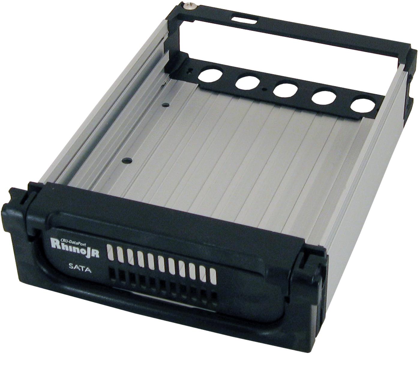 RhinoJR 110 SATA II Carrier - 1 x 3.5 inch - 1/3H Internal Hot-swappable - Internal - Black