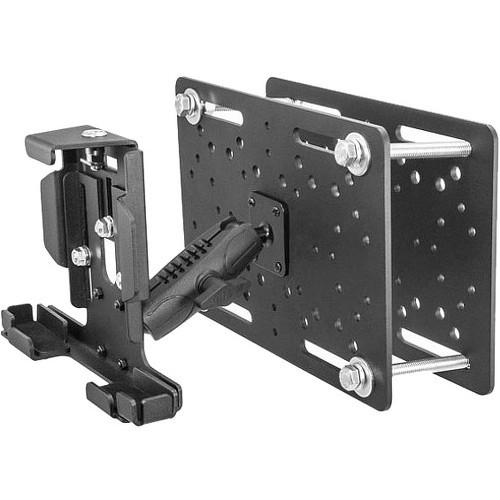 UNIVERSAL SECURE FORKLIFT ADJUSTABLE KEY LOCK 4IN ARM TABLET MOUNT