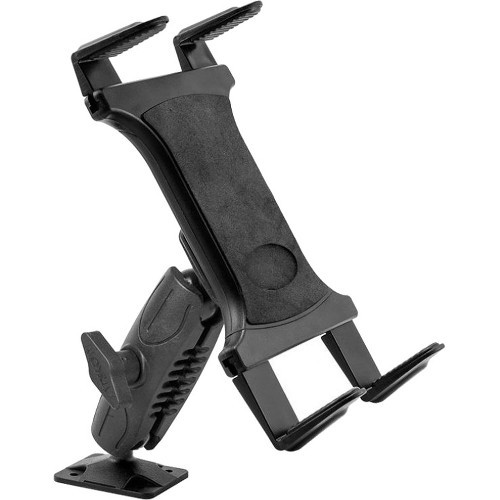 UNIVERSAL VEHICLE TABLET HOLDER WITH 4IN ARM DRILL BASE