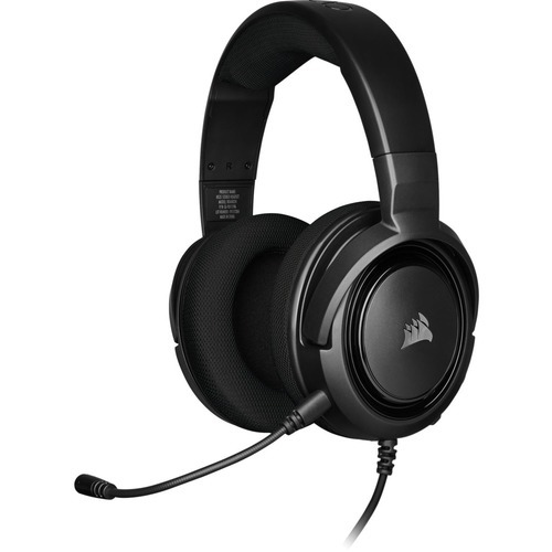 HS35 STEREO CARBON GAMING HEADSET FOR HIGH-QUALITY SOUND