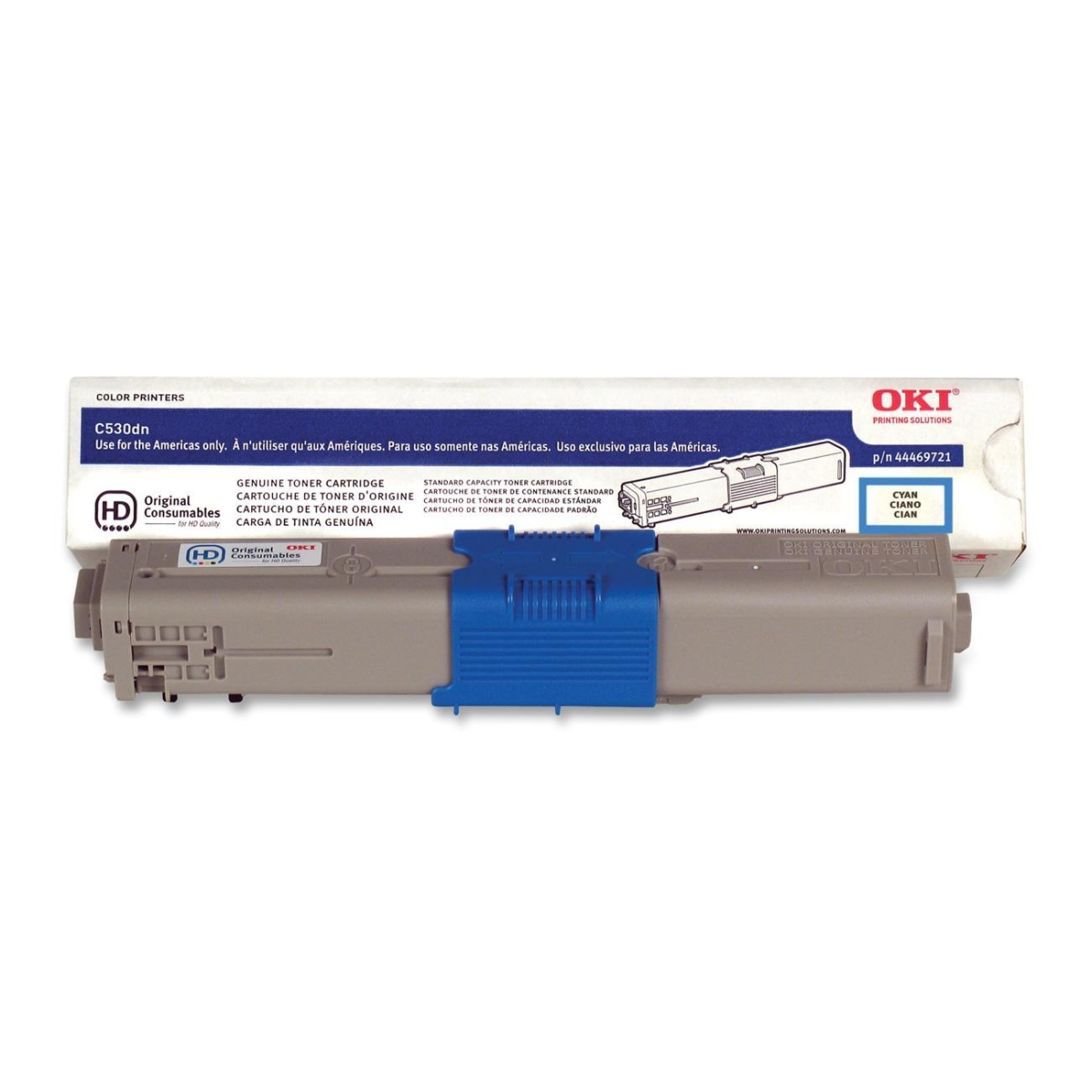 OKI Type C17 - High Capacity - cyan - original - toner cartridge - for OKI MC562dnw MC562w; C530dn 531dn; COREFIDO MC561DN