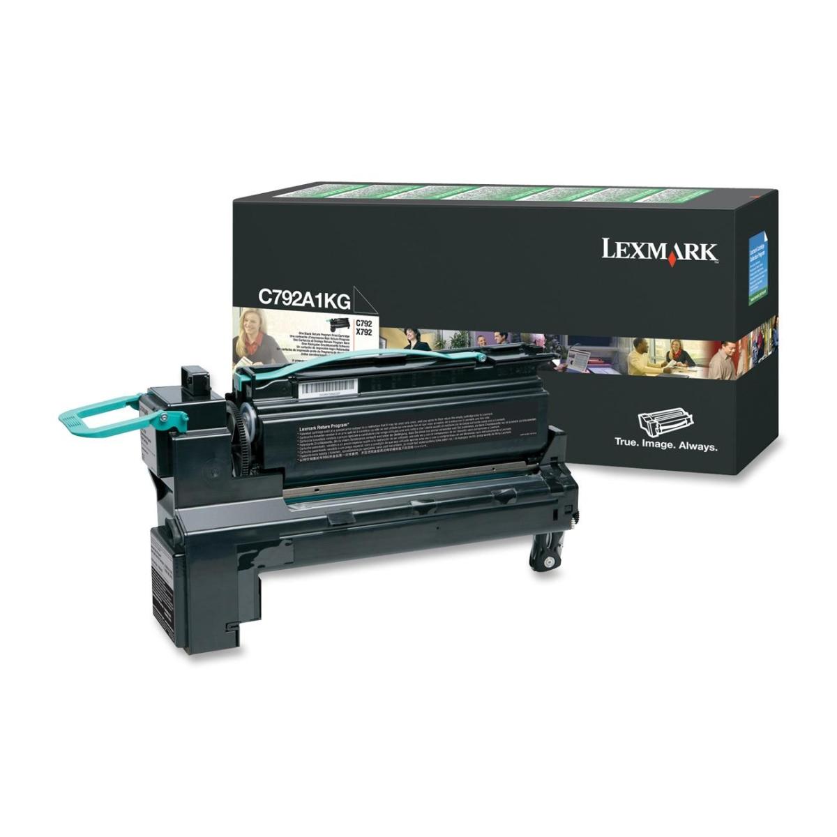 Black - original - toner cartridge LCCP LRP - for C792de 792dhe 792dte 792e; X792de 792dte 792dtfe 792dtme 792dtpe 792dtse
