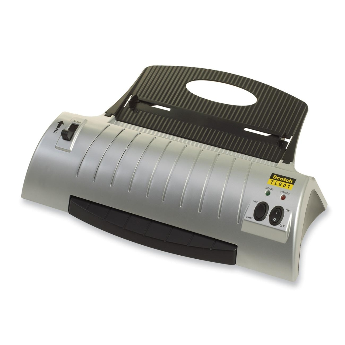 SCOTCH THERMAL LAMINATOR COMBO PACK INCLUDES 20 LAMINATING POUCHES 8.9 INCHES X