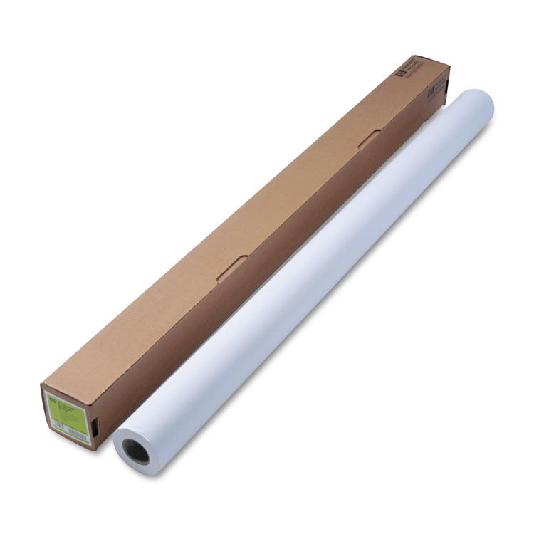 Heavyweight coated paper - 137.2cm (54in) x 30.5m (100ft) roll - For regular or UV resistant ink