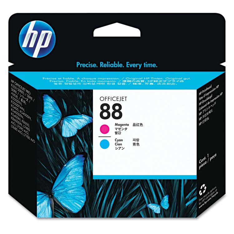 88 - Cyan magenta - printhead - for Officejet Pro K5400 K550 K8600 L7480 L7550 L7555 L7590 L7650 L7681 L7710 L7750