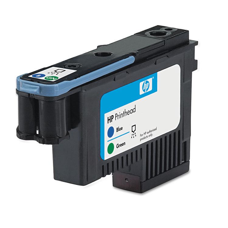 70 - Blue green - printhead - for DesignJet Z2100 Z2100 GP Z3100 Z3100 GP Z3100ps GP Z3200 Z3200ps Z5200 PostScript